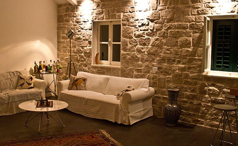 zidna obloga kombinacija terra i castell