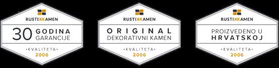 rustik kamen certifikati garancije