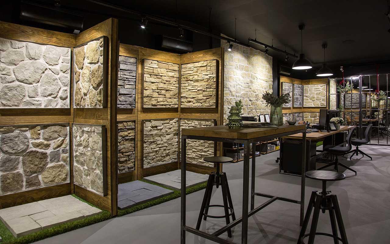 rustik kamen showroom