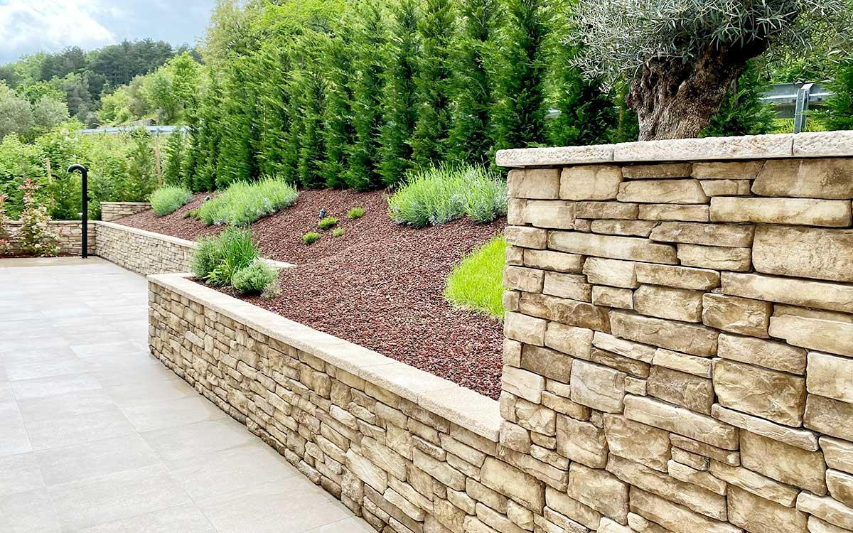 dekorativni kamen garda ograda
